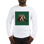 Brindle English Bulldog Long Sleeve T-Shirt