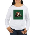 Brindle English Bulldog Women's Long Sleeve T-Shir