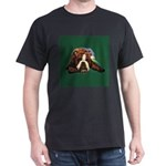 Brindle English Bulldog Dark T-Shirt