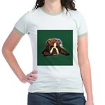 Brindle English Bulldog Jr. Ringer T-Shirt
