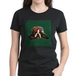Brindle English Bulldog Women's Dark T-Shirt