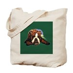 Brindle English Bulldog Tote Bag