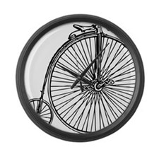 Penny Bike Large Wall Clock