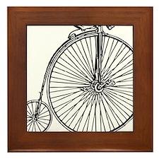 Penny Bike Framed Tile