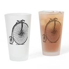 Penny Bike Drinking Glass
