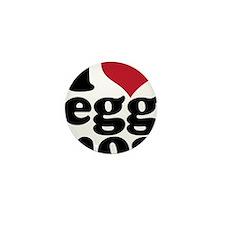 I Heart Eggnog Mini Button