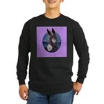 Donkey - Jack Ass Long Sleeve Dark T-Shirt