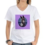 Donkey - Jack Ass Women's V-Neck T-Shirt