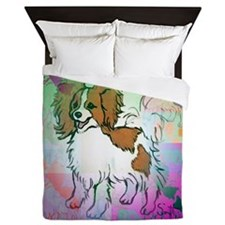 papillon2 Queen Duvet