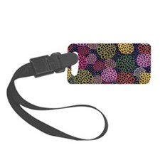Dancing Flowers Luggage Tag