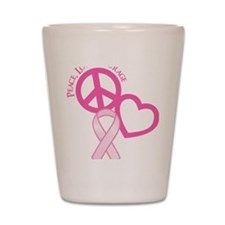 Pink, Courage Shot Glass