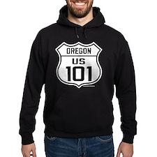 US Highway - Oregon 101 - old Hoodie