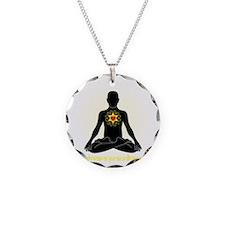 Ishvara Pranidhana Necklace Circle Charm