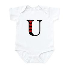 UTube Hot Red Style 2 Infant Bodysuit