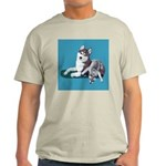 Siberian Husky and Puppy Light T-Shirt