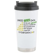 5 Star Linked Open Data Ceramic Travel Mug