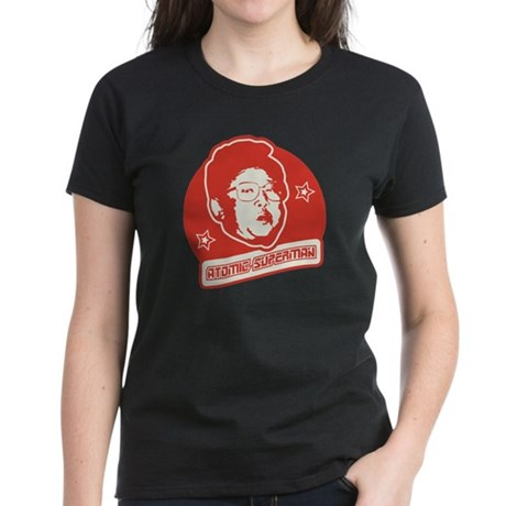 Crazy Kim Jong Women's Dark T-Shirt
