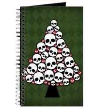 Holiday Skull Tree Journal
