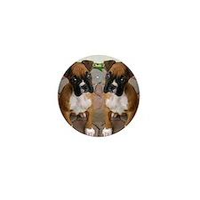 flip flops boxer Mini Button