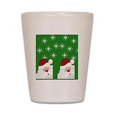Santa Flip Flops Shot Glass