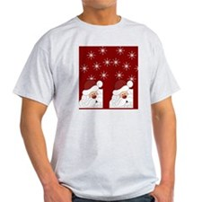Santa Claus Holiday Christmas Flip F T-Shirt