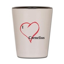love_cornelius.gif Shot Glass