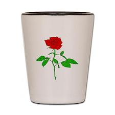 Rose Thong Front Shot Glass