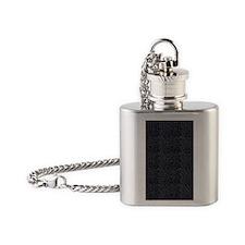 iPad Sleeve - Cracked Leather Flask Necklace