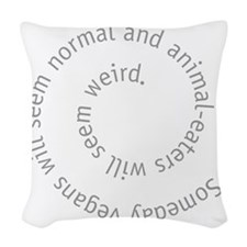 normal Woven Throw Pillow