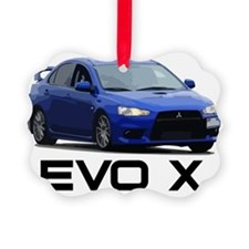 Evo Corner Work Black Ornament