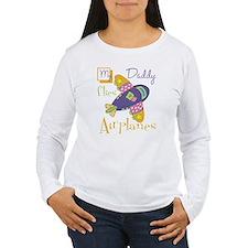 my daddy flies airplan T-Shirt