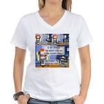 Disability Quote Women's V-Neck T-Shirt