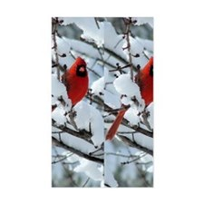 Cardinal Winter Decal