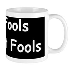 anti obama only fools re electddbump Small Mug