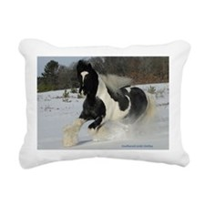 Mickey Snow  Rectangle Rectangular Canvas Pillow