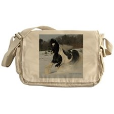 Mickey Snow  Rectangle Messenger Bag