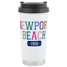 Newport Beach 1906 W Ceramic Travel Mug