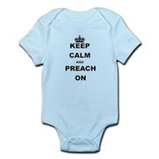 KEEP CALM AND PREACH ON Body Suit