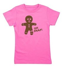 Oh Snap Gingerbread Girl's Tee