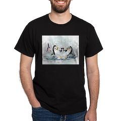 hOt tUb pEnGuInS Dark T-Shirt