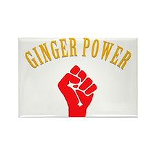 ginger-power Rectangle Magnet