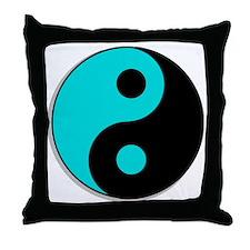 yin yang1 Throw Pillow