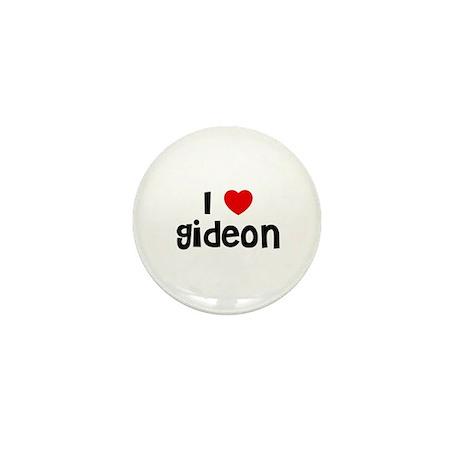 I * Gideon Mini Button