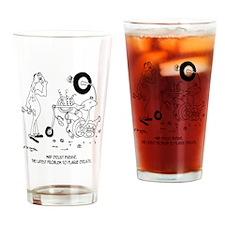 6999_disease_cartoon Drinking Glass
