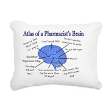 Atlas of a Pharmacists B Rectangular Canvas Pillow