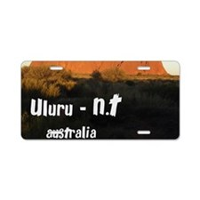 uluru2 Aluminum License Plate