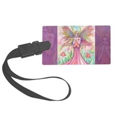 wildflower clutch bag Luggage Tag
