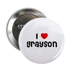 "I * Grayson 2.25"" Button (10 pack)"
