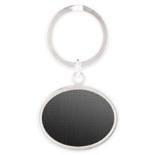 Laptop skin Metal Speaker Oval Keychain