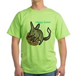 Easter Bilby Gifts, Green T-Shirt